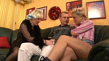 Vintage german orgy group hardcore fuck young old sluts film