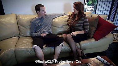 Rachel Steele MILF1427 - Who Wears the Pants? Kenny Takes Charge