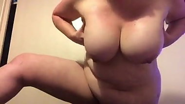 mother slut bbw wanking for son