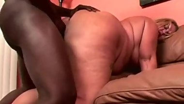 Mature Dirty Blonde BBW With Huge Ass Takes on a BBC