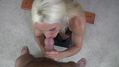 Slave Give Me Your Cum (POV blowjob)