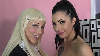 SOFIA MEET PRISCILLA IN THEIR FIRST LESBO & SQUIRTING VIDEO TOGHETER