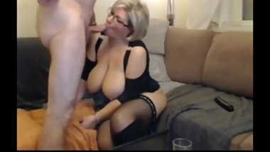 Slutty mature wife gets rough drilled by her new boss