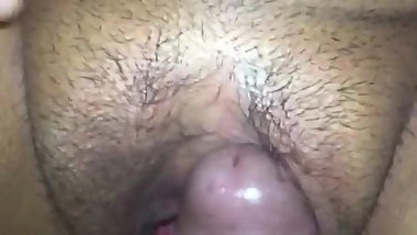 RUBING HIS DICK AGAINS MY PUSSY  FINISH ME WITH A CREAM PIE