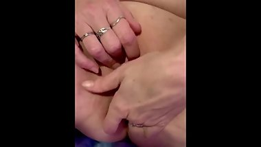 Beautiful pink pussy getting played with squirting and creaming everywhere