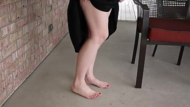 amateur mature wife feet and legs