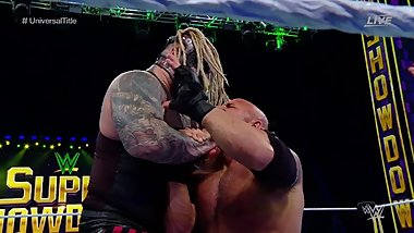 WWE SSD The Fiend Bray Wyatt destroyed by Goldberg and Vince McMahon