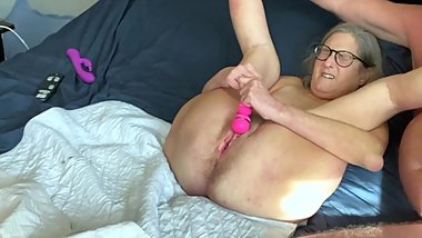 Hot Milf Vibes Wet Pussy Husband Fucks Her To Squirting Orgasm