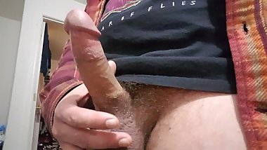 Edging small cock leads to ruined premature ejaculation