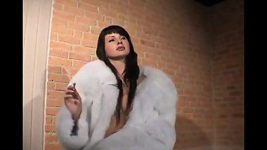 Fur Coat Smoking Fetish
