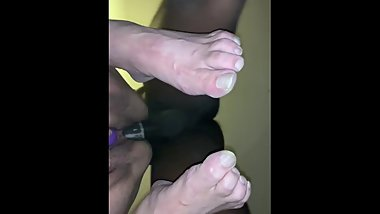 Edging in some Mature pussy