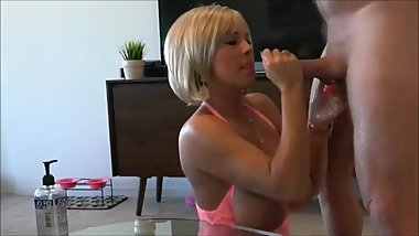 Shameless mature stepmom gets hard fucked by her lucky stepson