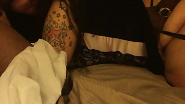 Tatted slut wife