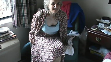 Cute mature woman
