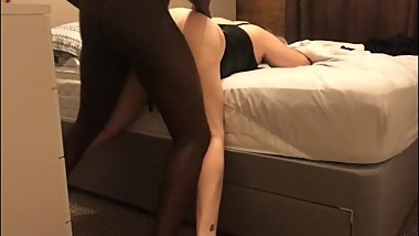 hot mature white wife being fucked hard by bbc in bedroom [HD]