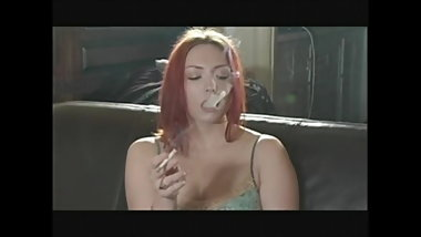 Redhead Smoking Fetish Hottie