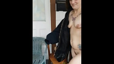 Husband convinced me to walk naked in public from the car to the house