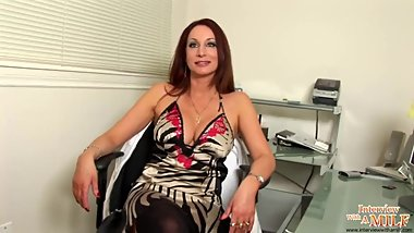 Abigail super hot milf interviev