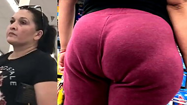 Mexican Nut Booty in Sweats and VPL - Remaster