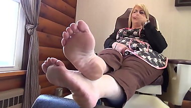 beautiful meaty wide mature soles